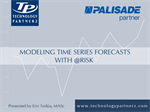 Modeling Time-Series Forecasts with @RISK